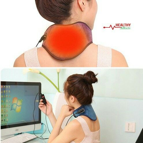 USB Powered Infrared Electric Heating Neck Wrap For Relieving