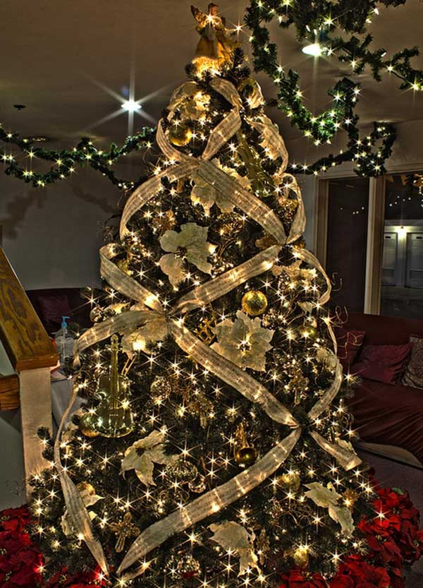 29 Inspirational Christmas Tree Decorating Ideas 2019 2020 With Images Happy New Amazing Christmas Trees Christmas Tree Decorations Elegant Christmas Trees