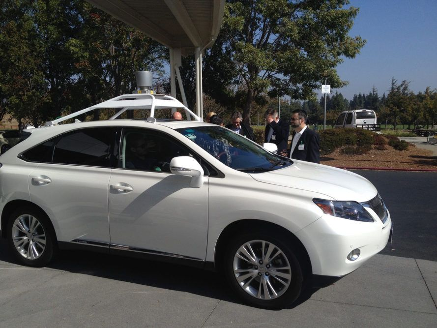 Apple selfdriving car spotted in California Self