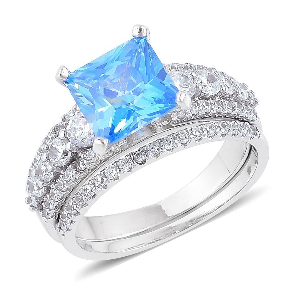 Details about blue white vs simulated diamond square set