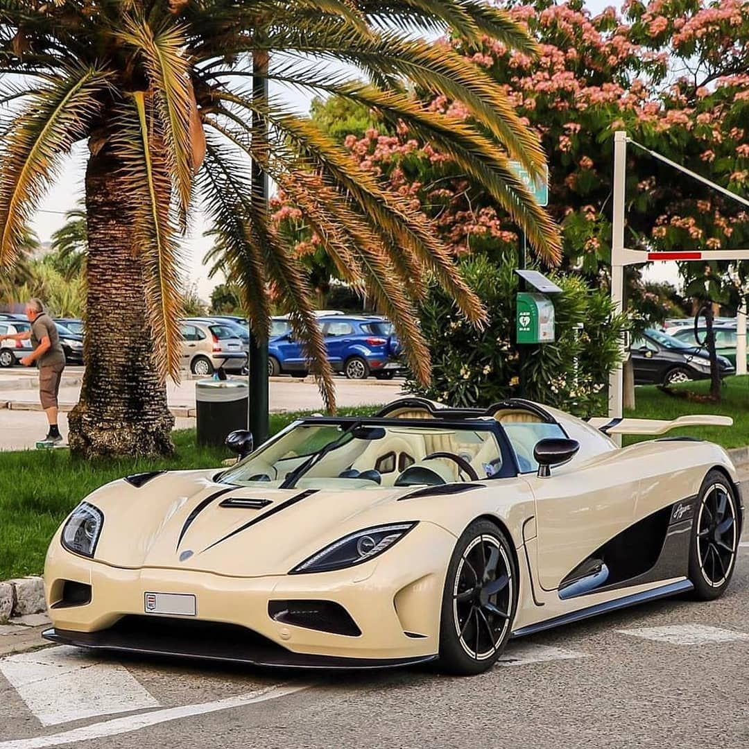 Lamborghini Agera R: Cream And Purple Carbon 🤤💜 Beautiful Photo Of The