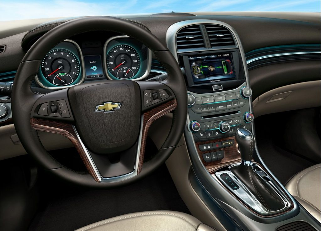 The Interior Of 2013 Chevrolet Malibu Eco Come To Homestead