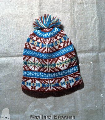 Shetland Museum Knitwear Collection. Patterned Fair Isle woollen ...