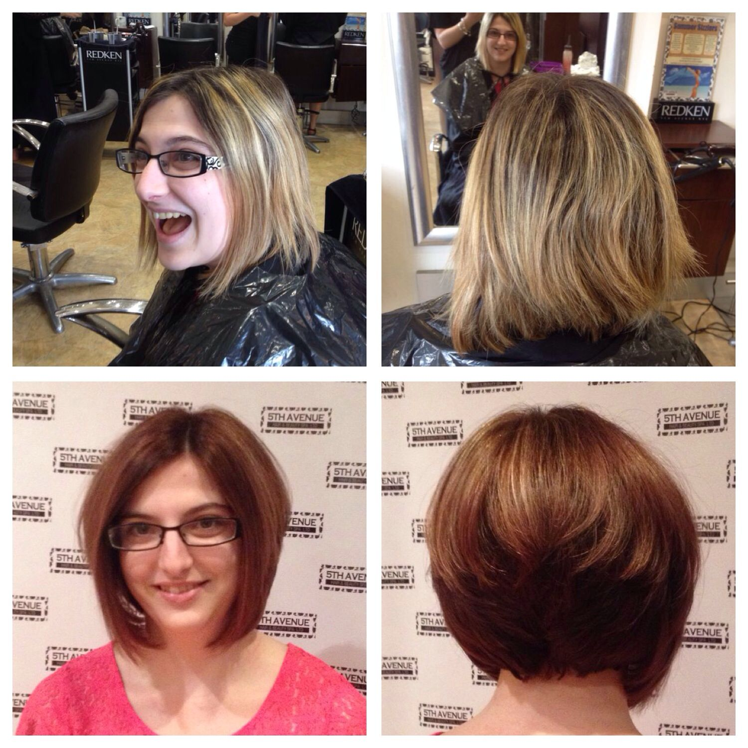 From blonde to brunette :0) by  Merc'edez