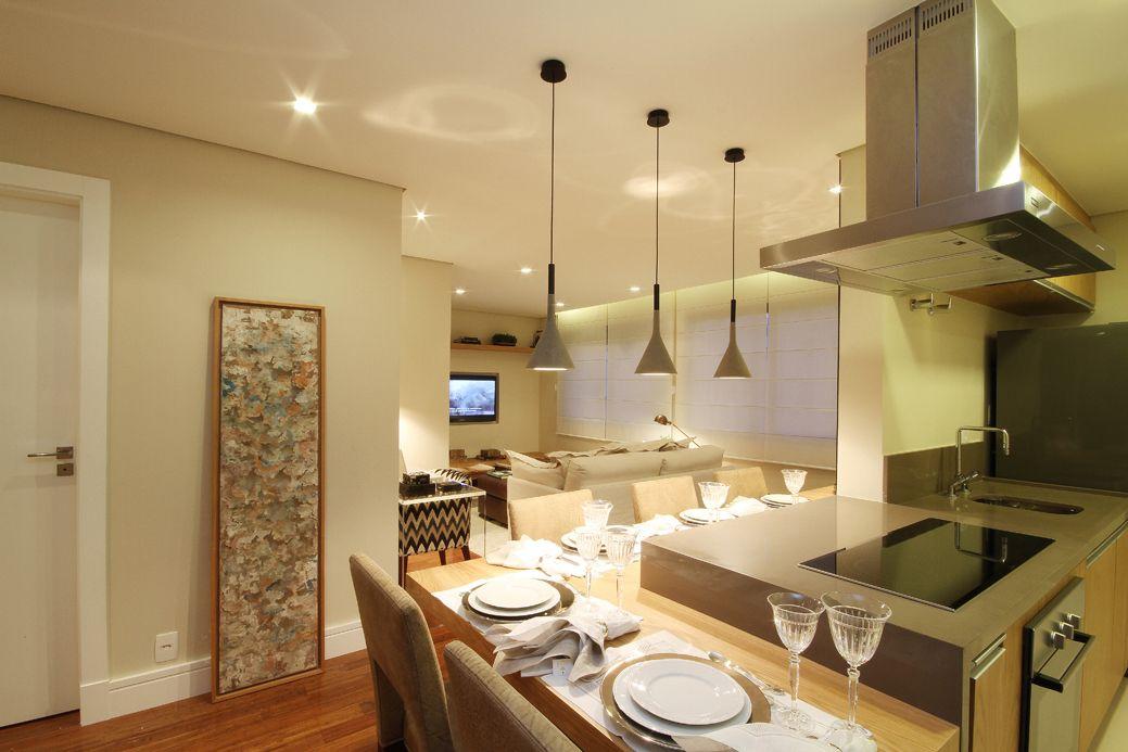 Apartamento pequeno decorado pesquisa google apto lais for Apartamentos decorados pequenos