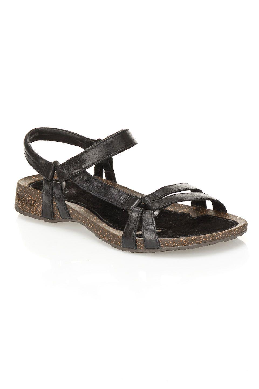 5e66abf04415 Teva Ventura Cork 2 Rialto Sandals in Black - Beyond the Rack ...