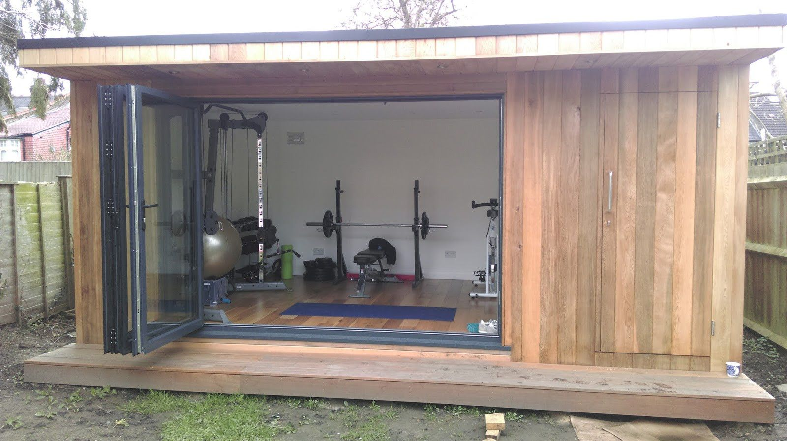 Image Result For Cool Office Shed Shed Quarters Pinterest  # Abris De Jardin Hela