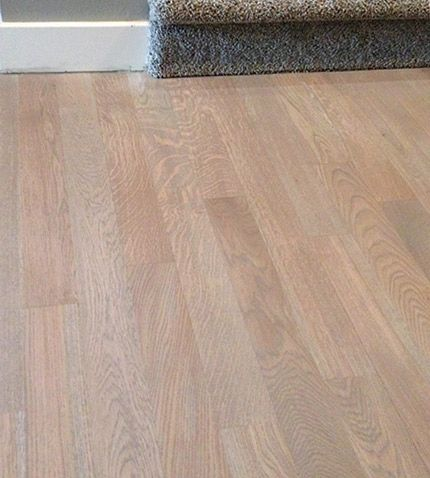 Wood Flooring Gray Stain White Oak