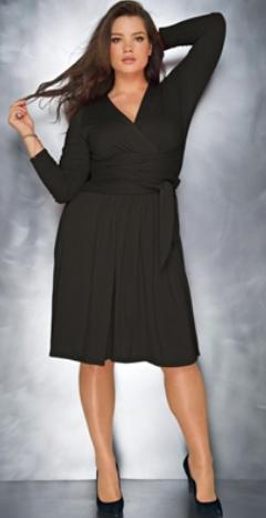 Black dress size 18 uk