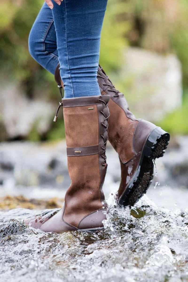 Dubarry Glanmire Damen Lederstiefel Walnut | Lederstiefel