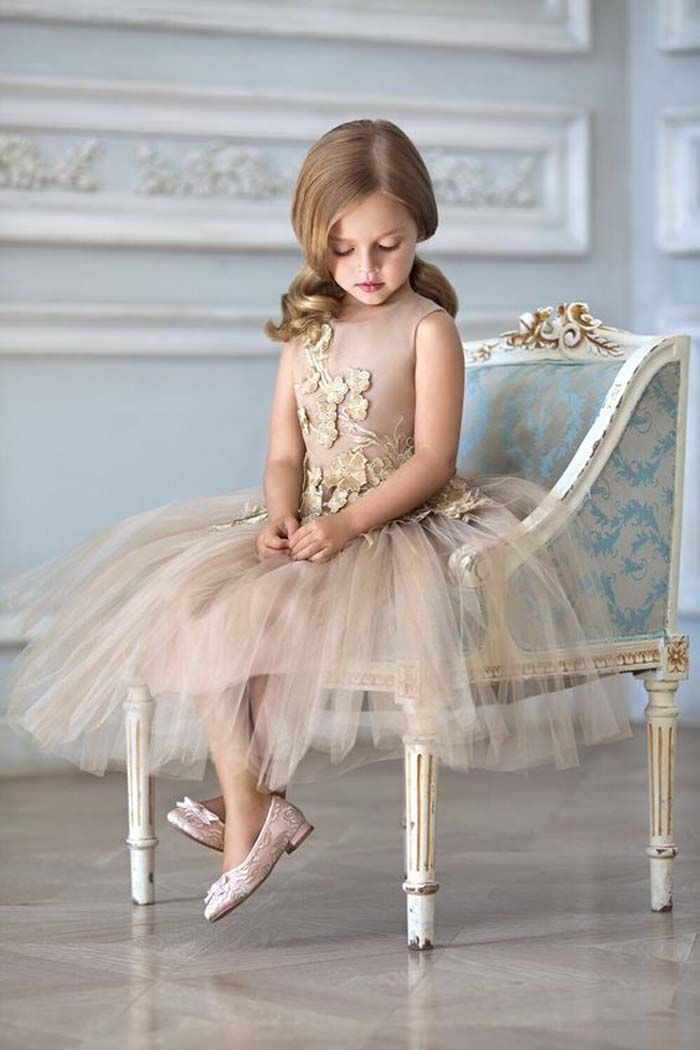 a22f09b7d5a 35 Unbelievably Cute Flower Girl Dresses for a Spring Wedding. Credits in  comment. More