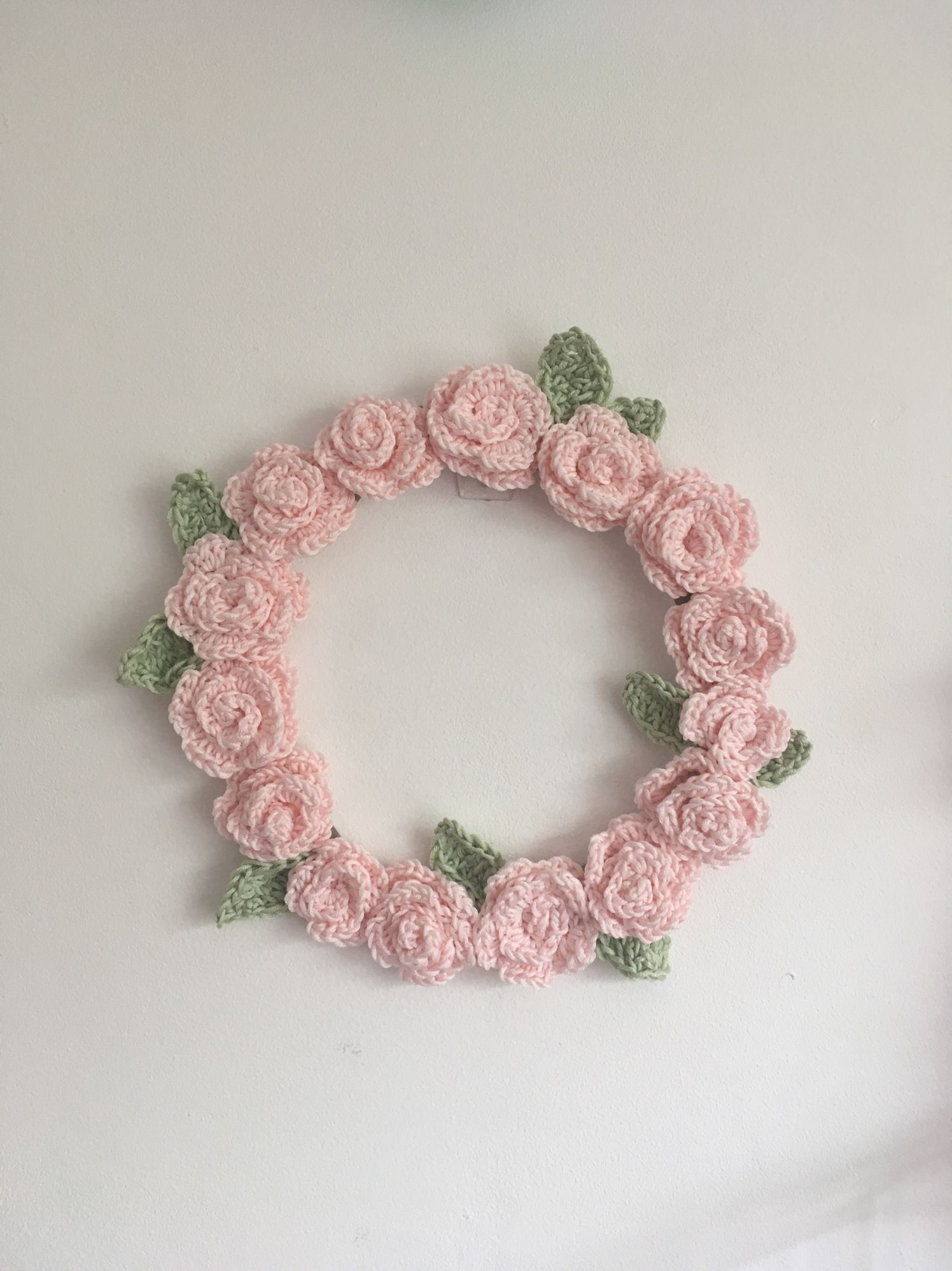 Photo of Crochet Wreath (free patterns)