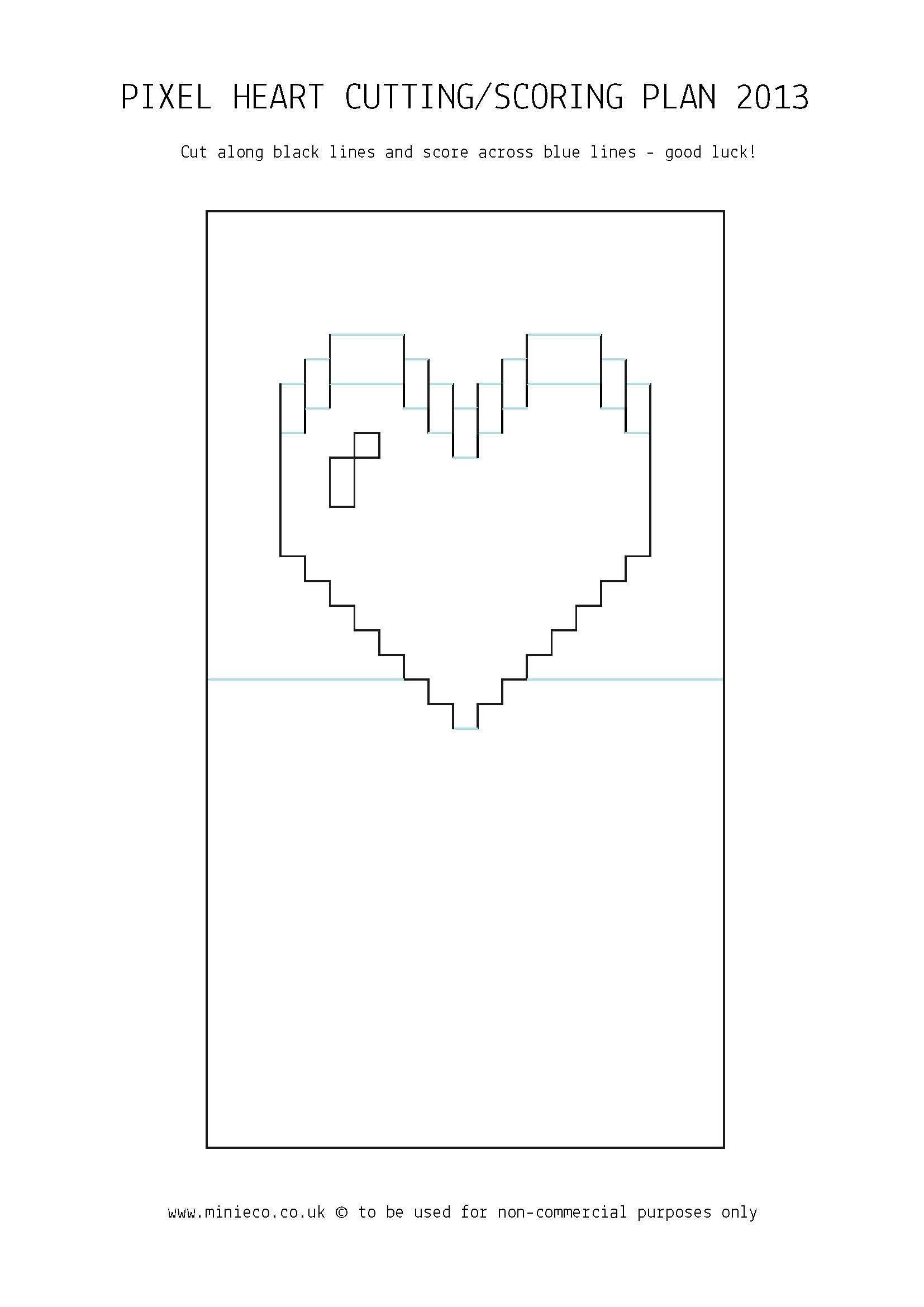 Pixel Heart Pop Up Card Pop Up Card Templates Heart Pop In Pixel Heart Pop Up Card Template Cumed Org Heart Pop Up Card Pop Up Card Templates Pixel Heart