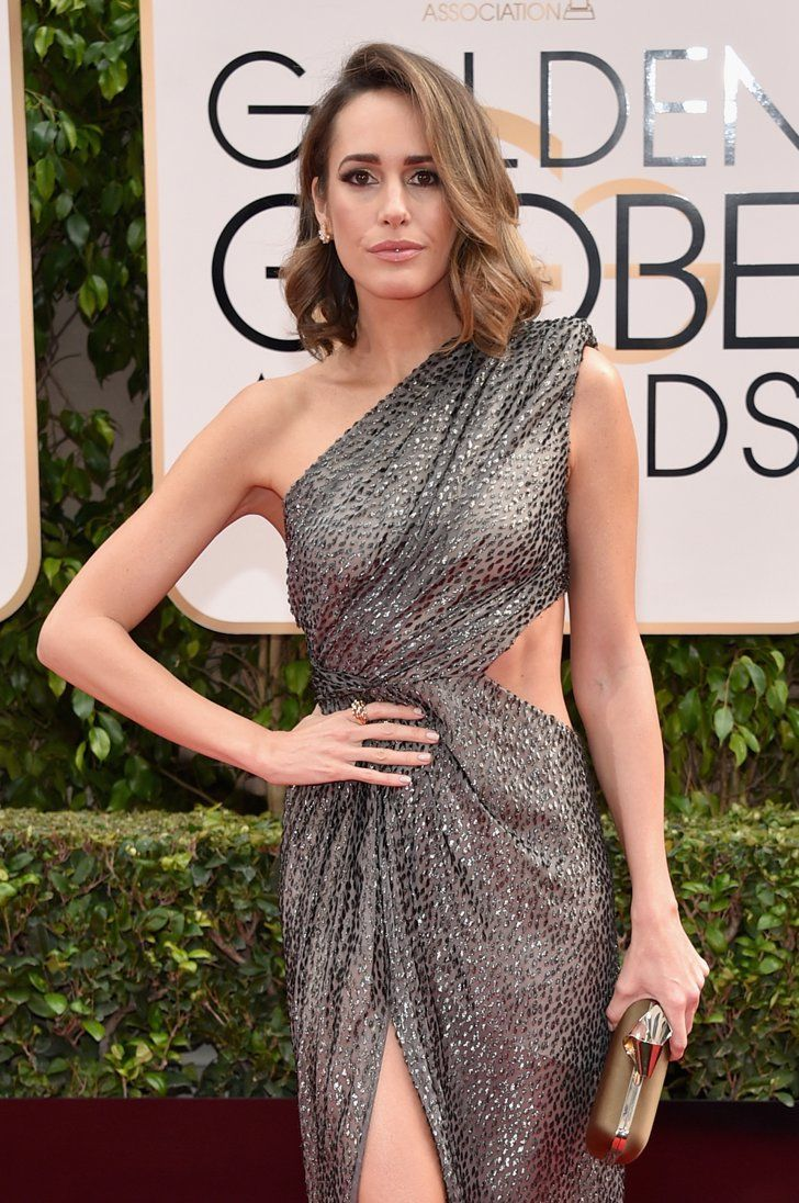 Pin for Later: The Hottest Celebrity Faux Tans From the Red Carpet Louise Roe