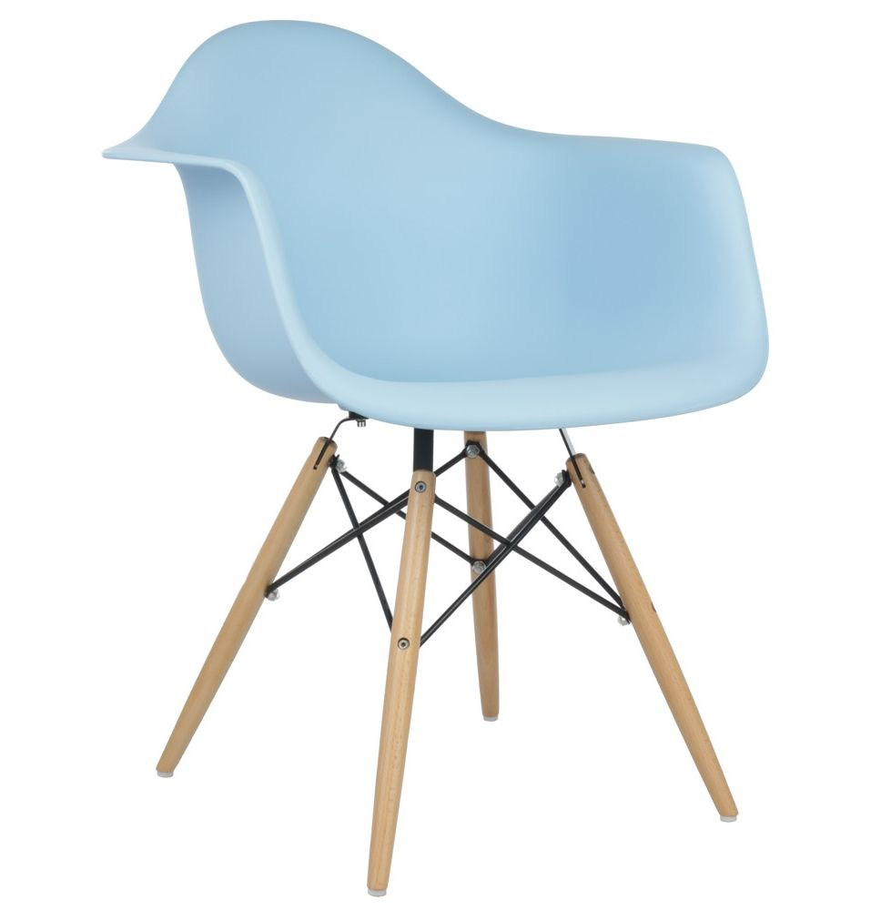 Replica Eames DAW Armchair Plastic by Charles and Ray Eames