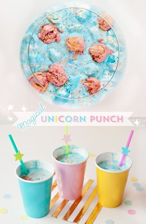 (Simple & Sweet) Unicorn Birthday Party Ideas - Unicorn birthday parties, Unicorn birthday, Unicorn themed birthday party, Unicorn party, First birthday parties, First birthdays - I'm excited to share this Unicorn Birthday Party Theme that I recently designed for FisherPrice! You can find the instructions for each idea + download