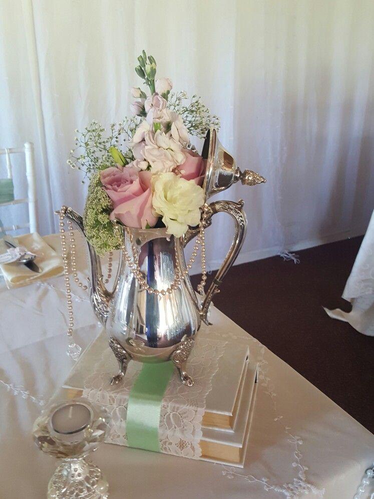 Delicate Elegance Events Vintage Wedding Antique Silver