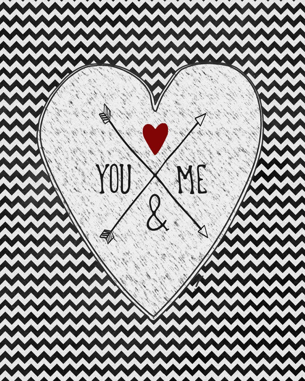 Valentine Chevron You