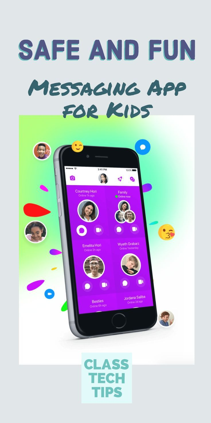 Safe and Fun Messaging App for Kids Messages, Classroom