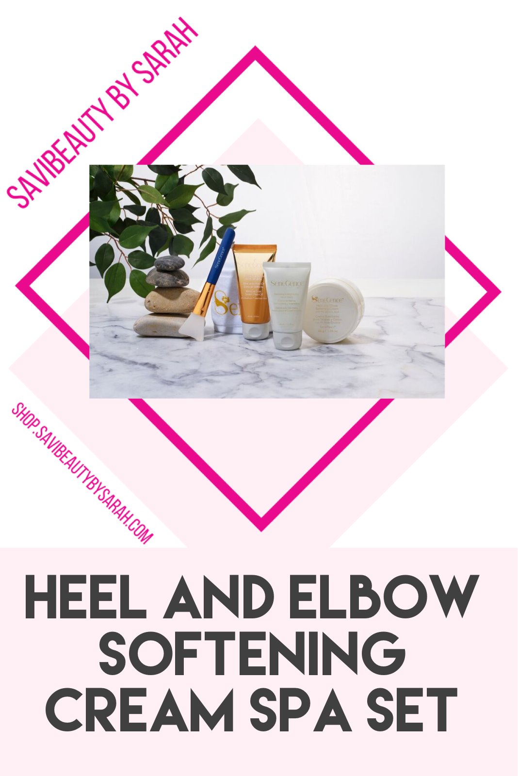 New SeneGence Product Heel and Elbow Softening Cream