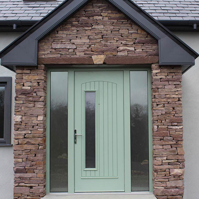 Beautiful Modern Front Door In Chartwell Green This Door Is A