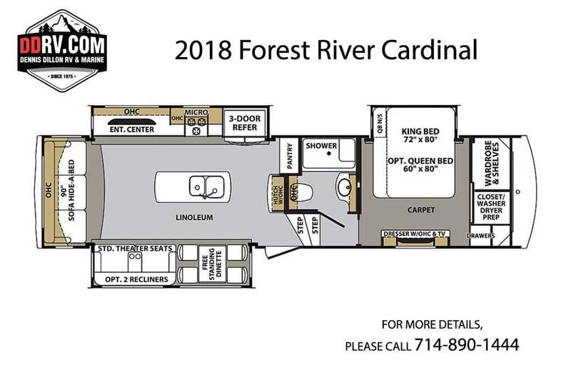 2018 Forest River Cardinal 3350rl For Sale Westminster Ca Rvt