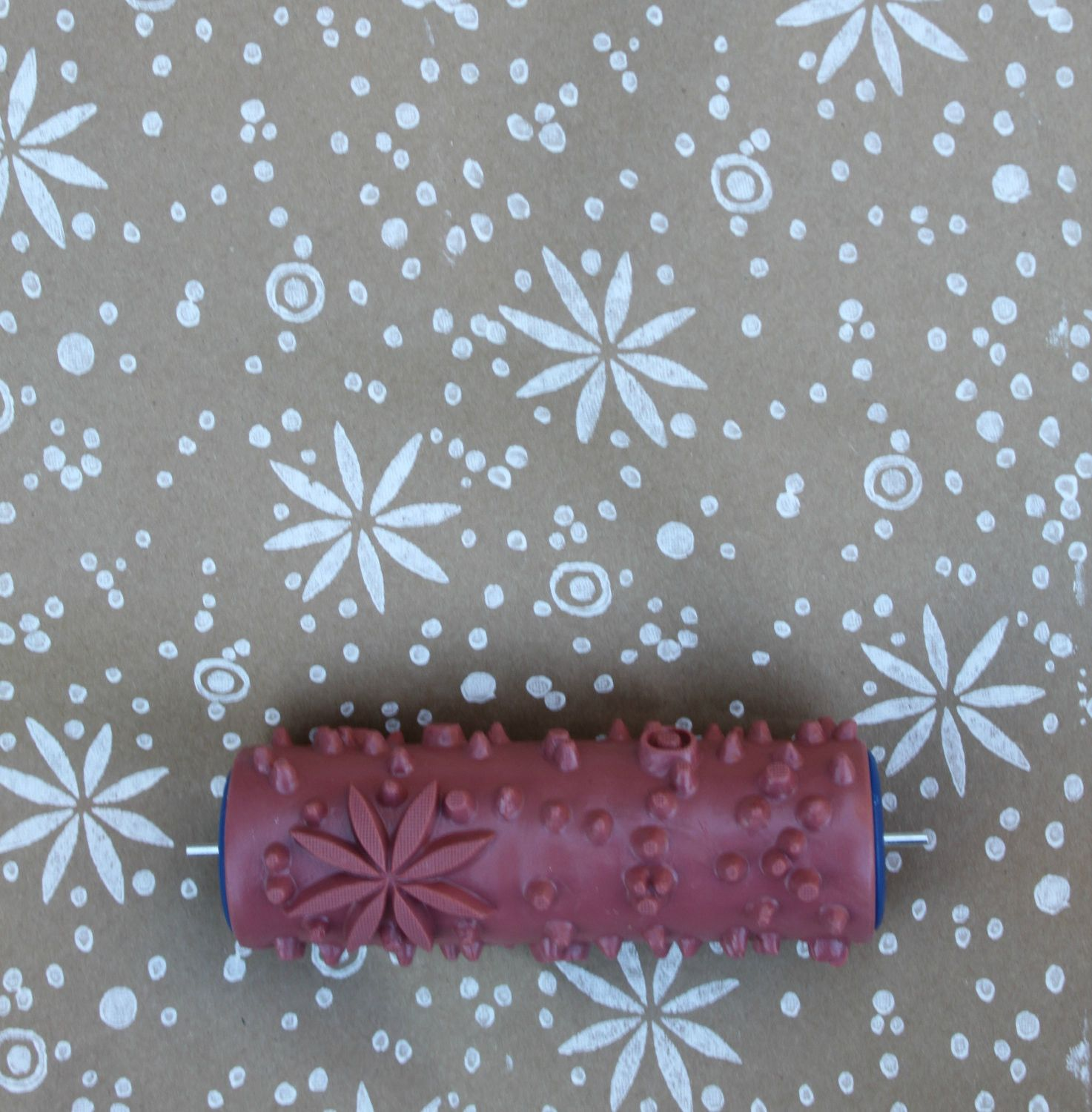 Fair Isle Patterned Paint Roller | Patterned paint rollers ...