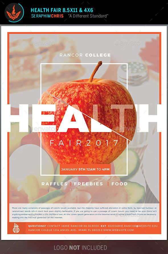 Health Fair Flyer Template  Health Fair Flyer Template And Template