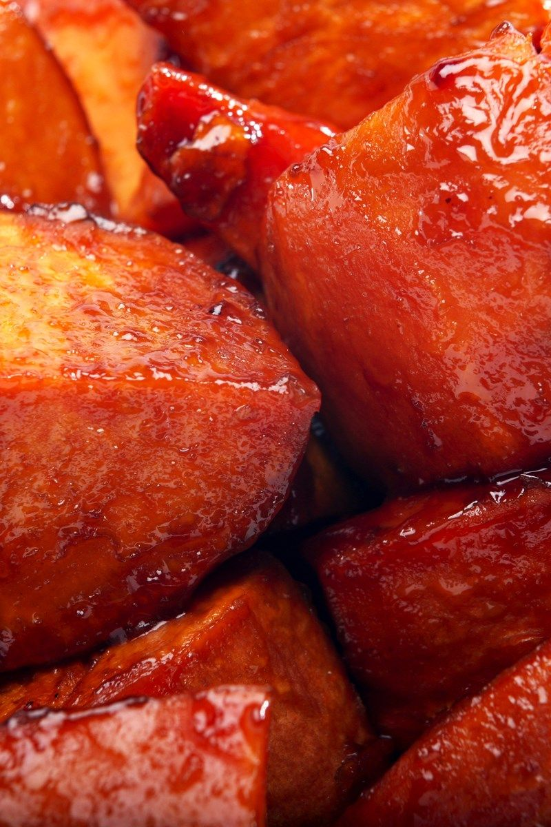 Sweet potato recipes brown sugar syrup