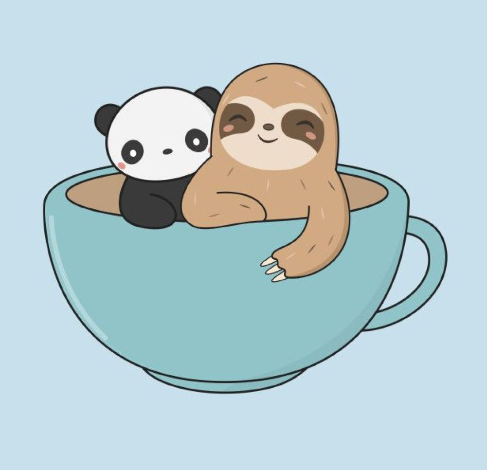 Pin By Panna Mako On Cuki Rajzotletek Sloth Art Cute Sloth Pictures Sloth Drawing