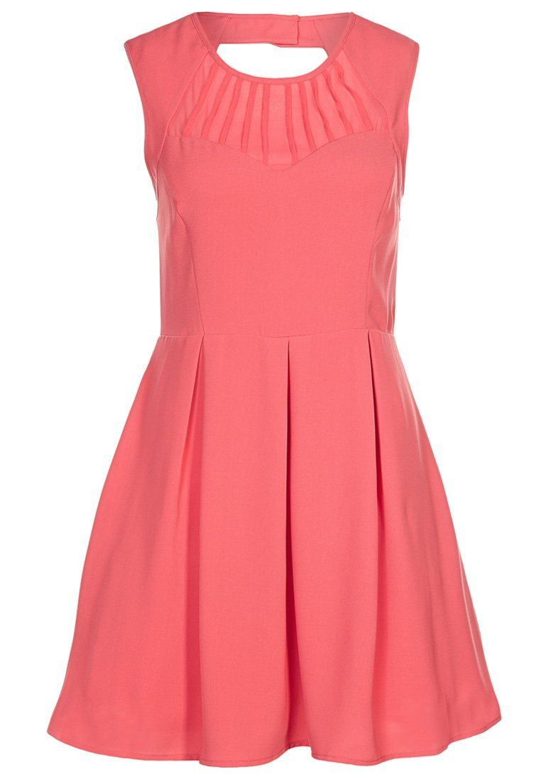 #vestito #dress #arancione #orange #pesca #zalando