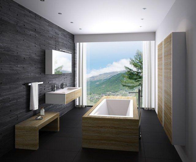 101 photos de salle de bains moderne qui vous inspireront | Pierre ...