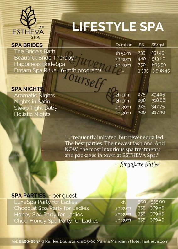 [ Holistic And Yet Exquisite Spa Packages - There Is ...