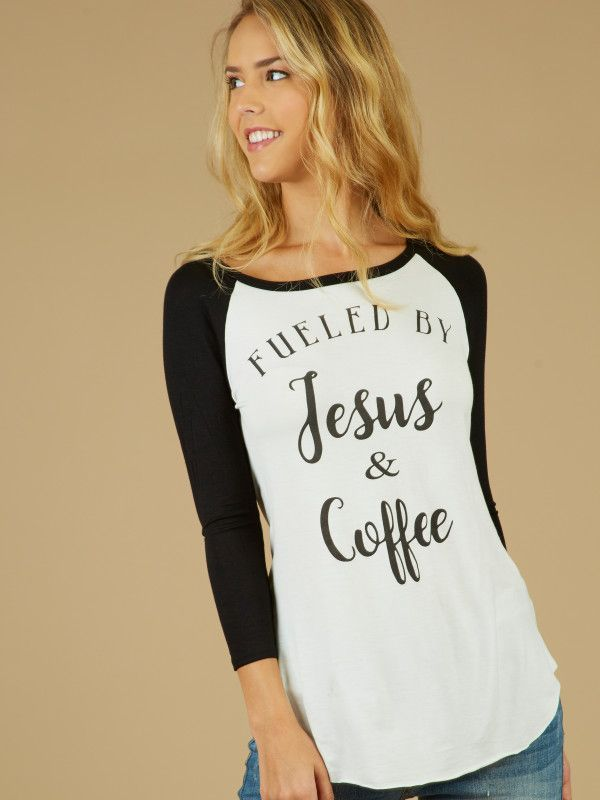 aed6c149732b2e Altar d State Get Fueled Up Top - 3 4 Sleeve - Tops - Apparel ...