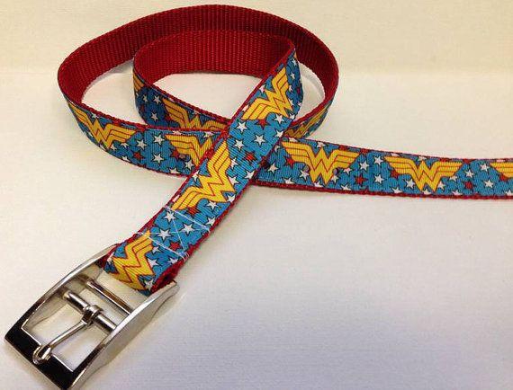 Woman Woman Belt You Choose by SaintTiger on Etsy, $15.00