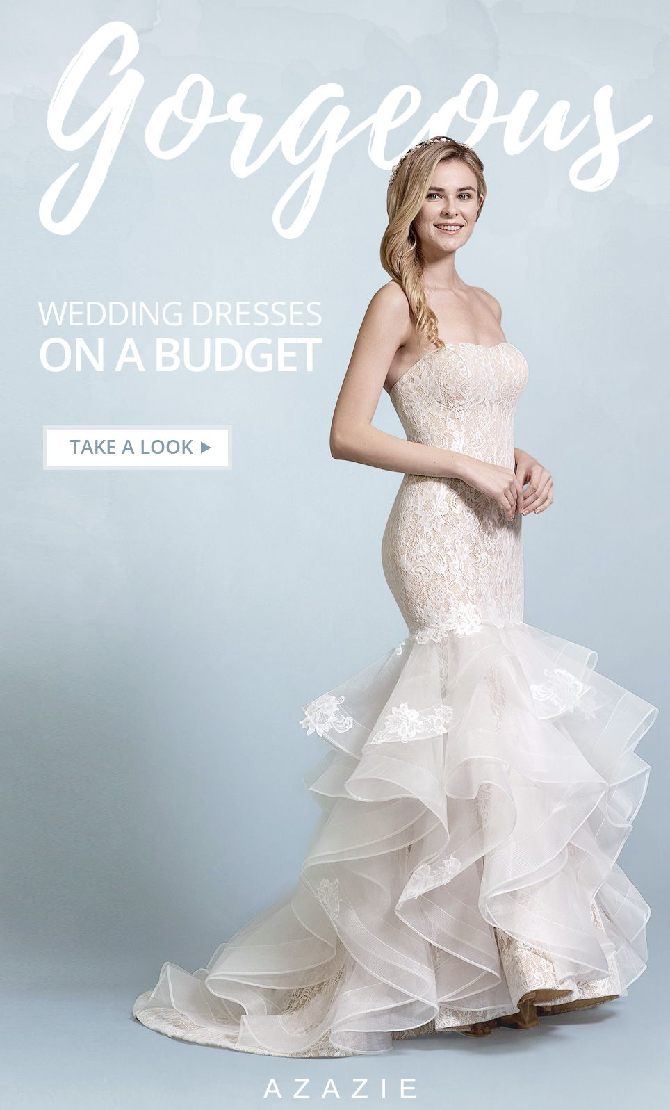 Shop Azazie Wedding Dress - Tulle, Lace and Jersey. Find the perfect ...