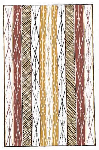 Tiwi Motif V...Tiwi Art - Paintings from the Tiwi Islands