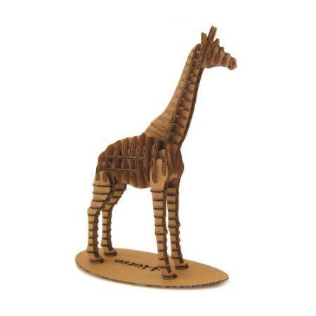 Giraffe 3D Cardboard Animal Puzzle $27 baby #4 Pinterest 3d - griffe für küche