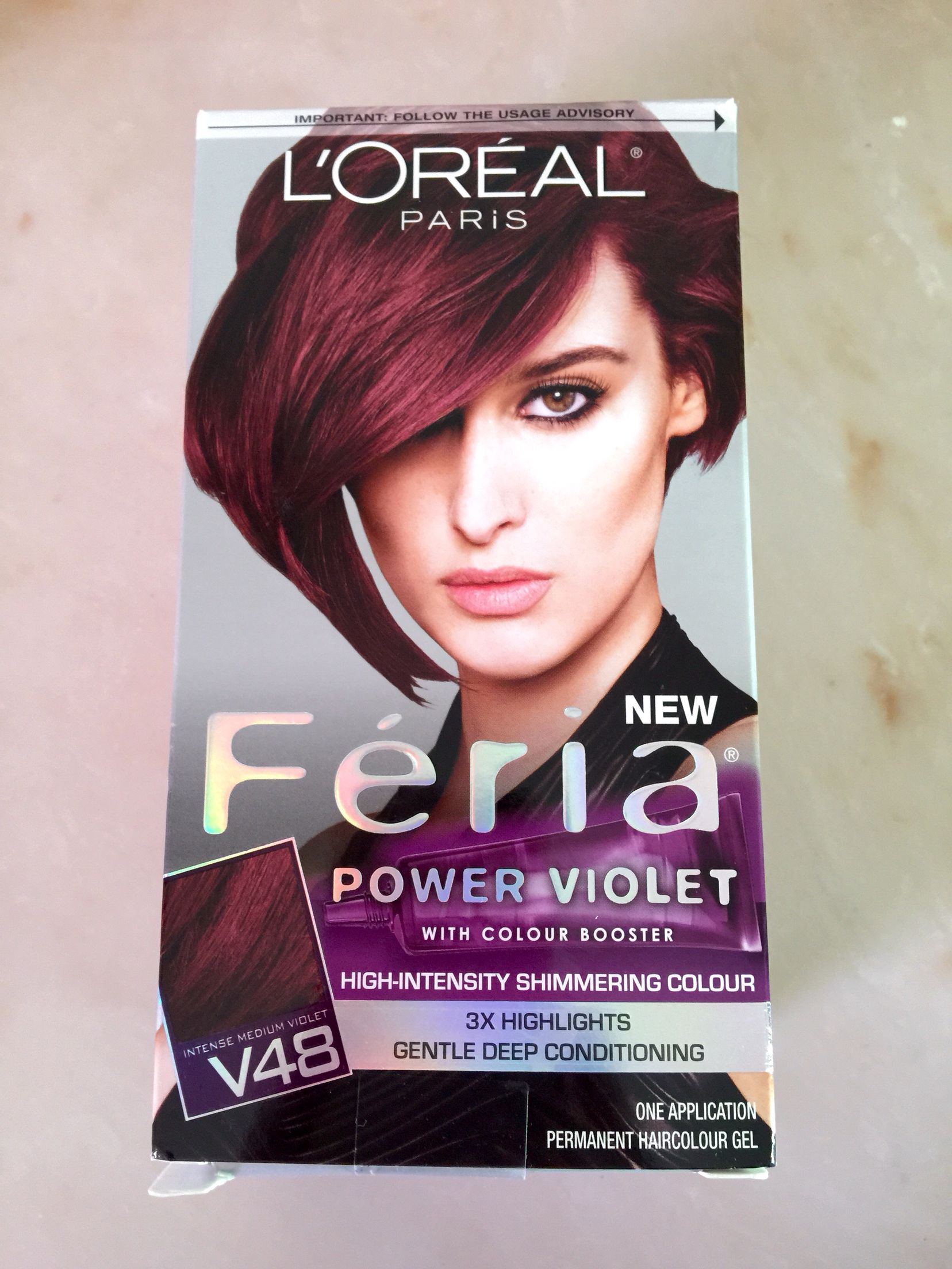 So Excited To Color My Hair This Luscious Shade Of Violet Feria