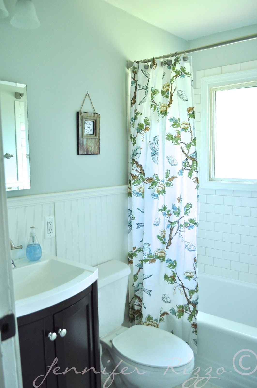 $1300 Budget Bathroom Update Bathroom Decor  Pinterest Prepossessing Updating A Small Bathroom On A Budget Design Decoration