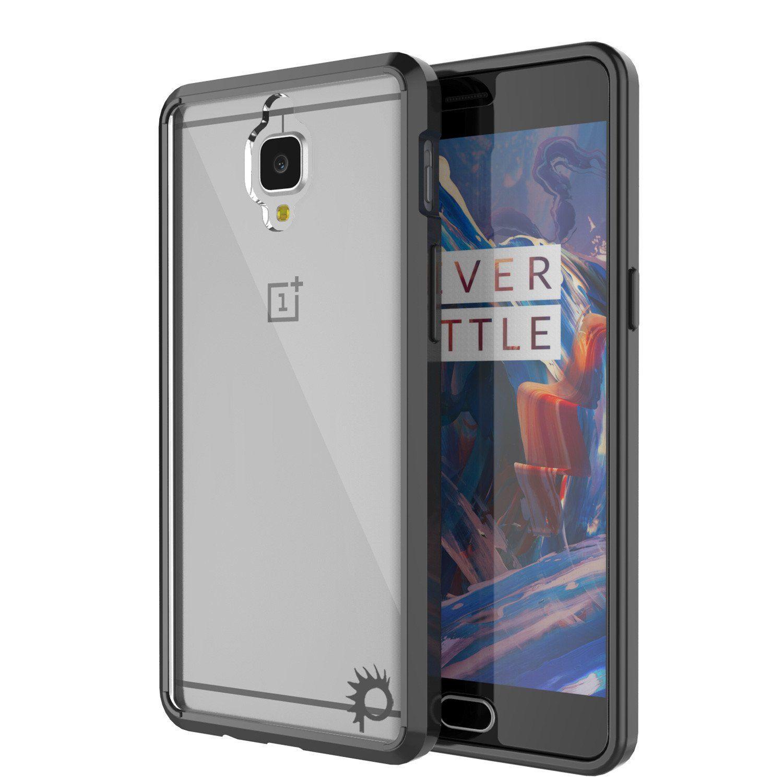 OnePlus 3 Case Punkcase® LUCID 2.0 Black Series for OnePlus 3 Slim ...