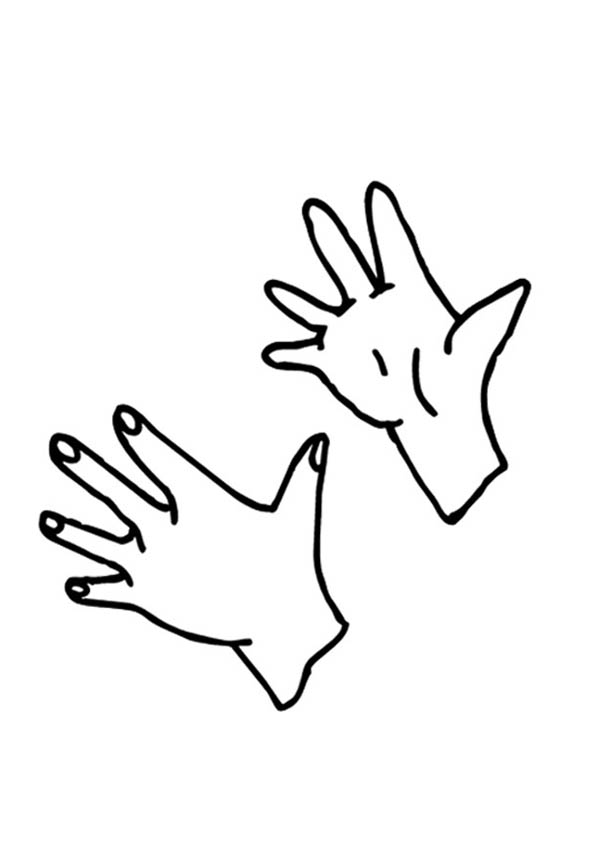 Clapping Hand Coloring Page Coloring Sky Coloring Pages Hand Coloring Online Coloring