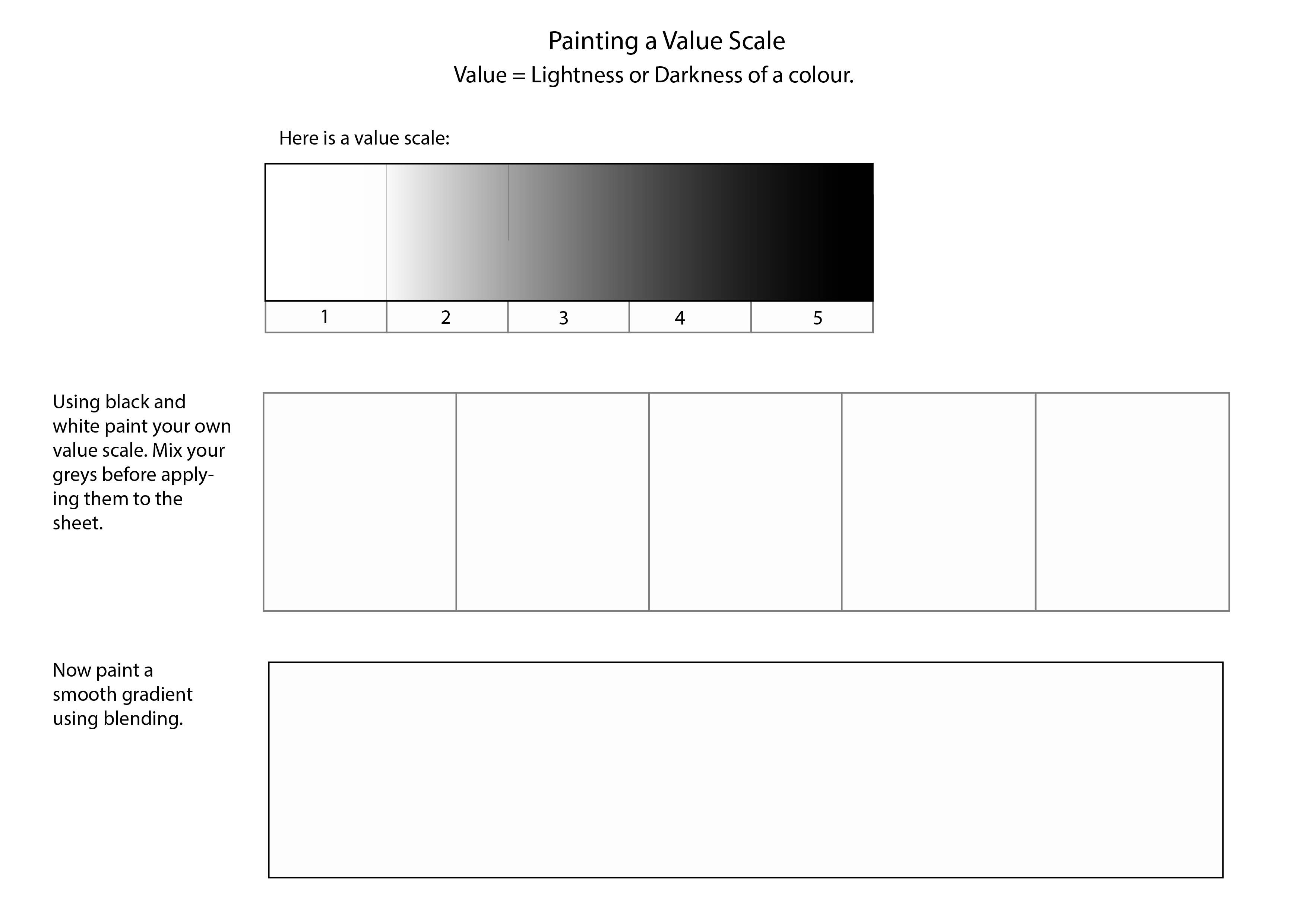 Blending Worksheet