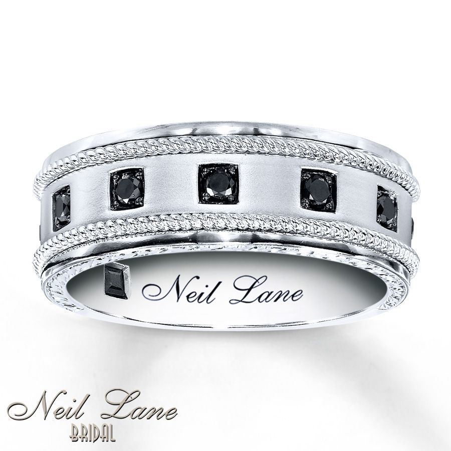This is a picture of Neil Lane nuff said Neil lane engagement rings, Black diamond