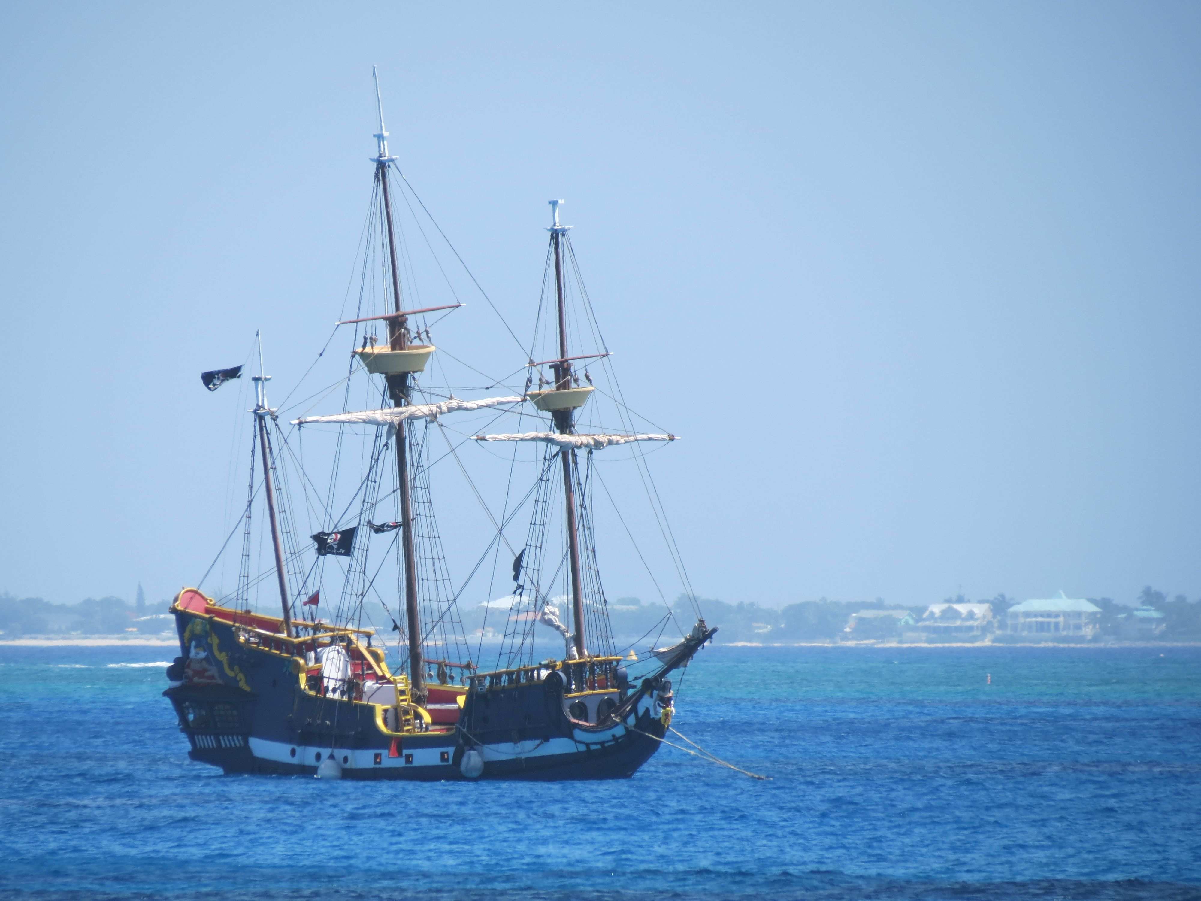 Pirate ship off Grand Caman Stuff I just like