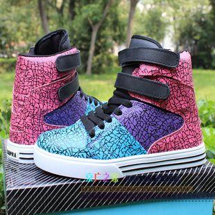 Justin b 2013 high top hip hop dance shoes man and woman ...