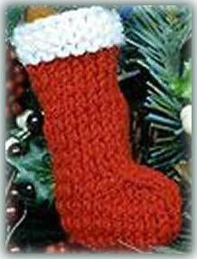Free Knitted Christmas Stocking Pattern