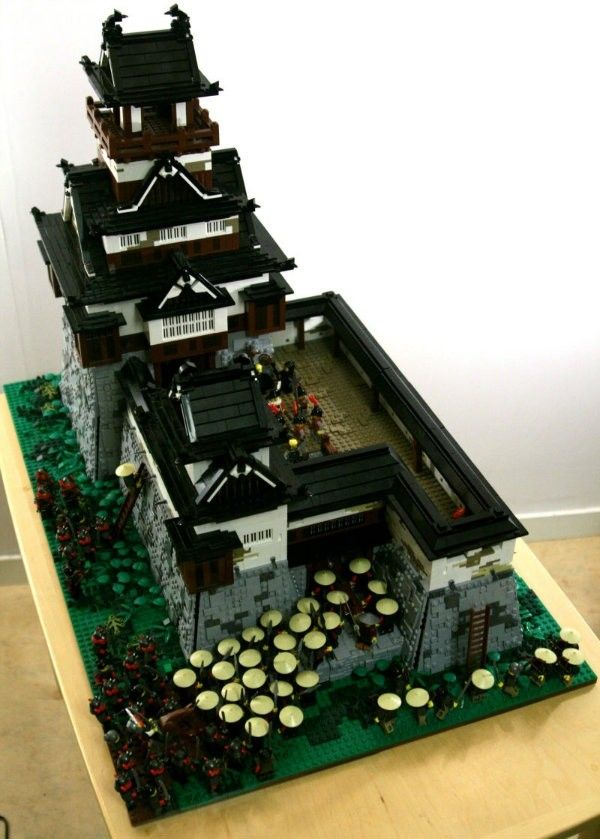 7 awesome japanese castles made of lego | all about japan | lego