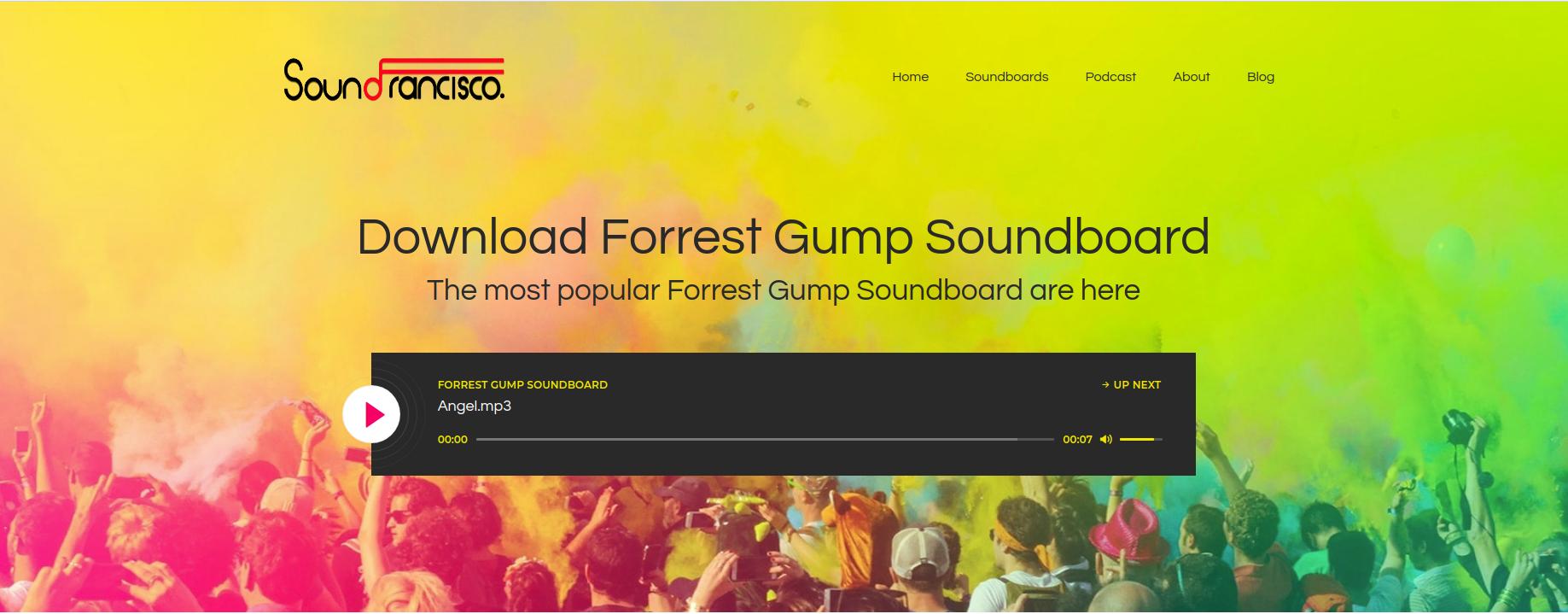 Pin on Forrest Gump Soundboard