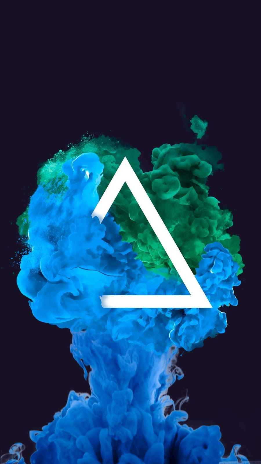Most Great Anime Wallpaper IPhone Colour Triangle Smoke